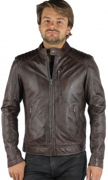 Blouson Cuir Oakwood Agency