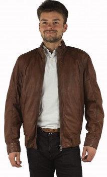 Blouson Cuir Trapper Williams
