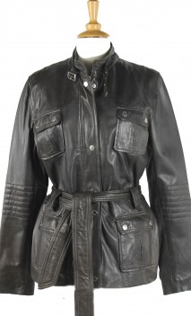 Veste Cuir Oakwood Fury