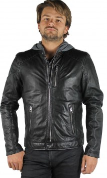 Blouson Cuir Oakwood Sailor