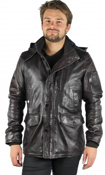 Veste Cuir Homme Guest Titoo