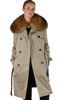 Trench Avec Doublure Amovible Intuition Ivana