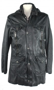 Veste Cuir Homme Oakwood Over