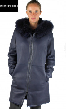 Manteau Mouton reversible Intuition Maxence