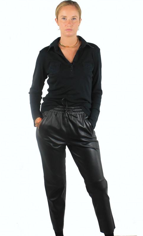 Pantalon Cuir Femme Oakwood Gift