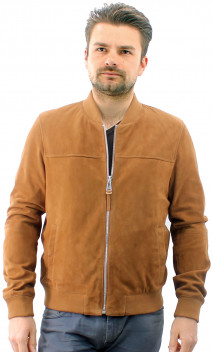 Blouson Chèvre Velours Redskins Bower